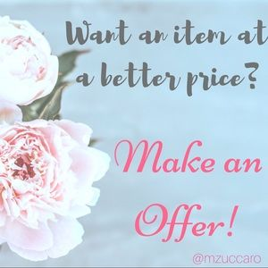 🌸 Make Me An Offer! 🌸